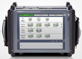 Field transport tester keeps pace with 100Gb/s data rates