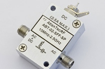 50GHz Bias Tees enable co-habitation of coaxial lines