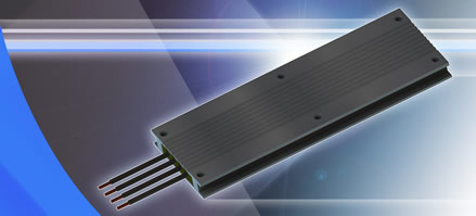 COTS resistors feature 2500W high power rating