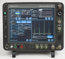 Digital radio test set expands field applications potential