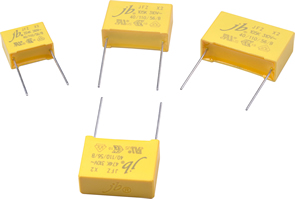 Metallised capacitors meet VDE, ENEC standards