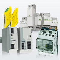 Slim relays target safety applications