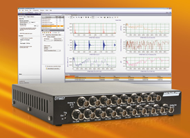 Data acquisition modules analyse sound and vibration
