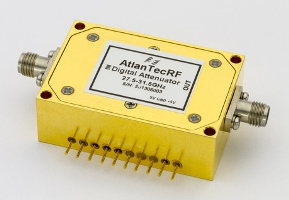 PIN attenuators cover 500MHz to 40GHz frequencies