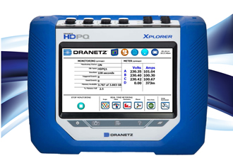 Dranetz HDPQ Power Quality & Energy Instruments Set the Standard for High-Definition Performance, Safety, Productivity and Usability