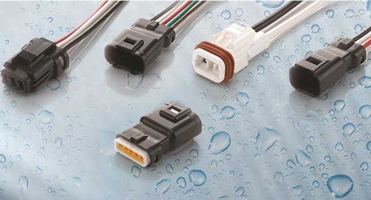 Wire-to-board connectors carry IP67 designation