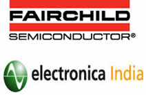Fairchild power solutions demo at Electronica India 2013
