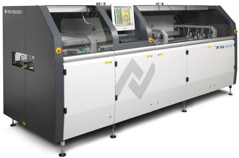 Soldering machine eliminates loss of production