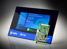 Evaluation kit targets capacitive input systems
