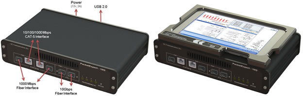 Ethernet/IP tester supports 10G networks