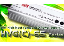 65W LED power supply for international operation
