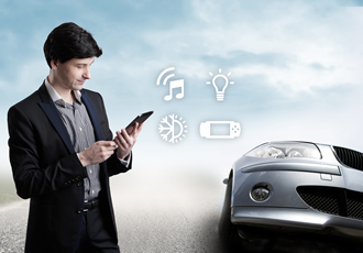 Universal Control of In-car MOST Devices by UPnP