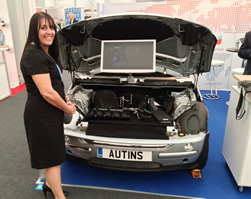 Lightweight materials catch the eye at automotive show