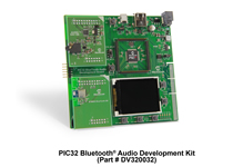 PIC32 Bluetooth audio development kit from Microchip