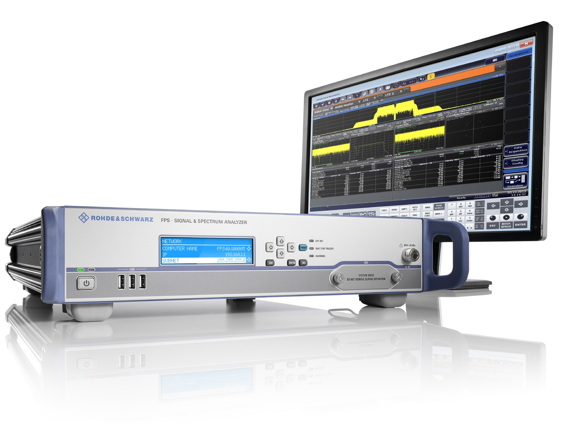 Signal and spectrum analyser delivers faster measurement speeds