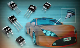 Automotive MOSFETs target heavy load applications