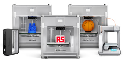 RS strengthens 3D printer offering