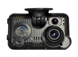 Full-HD dash cams collect video and black-box data