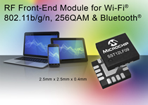 RF WLAN FEM extends mobile device and router ranges