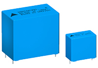 Capacitors offer extended operating voltage up to 530V AC
