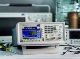 Arbitrary function generator provides 300MS/s sample rate