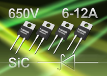 Toshiba introduces 650V SiC Schottky Barrier Diodes