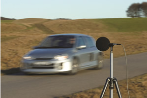 Multiple vehicle noise tests get on track