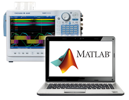 Instrument enhanced with MATLAB file saving