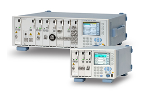 Attenuation and switch modules added to optical test system