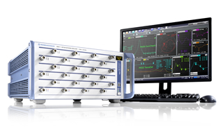 Network analyser boasts 24 integrated test ports