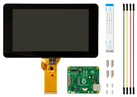 7-inch touchscreen display added to Raspberry Pi ingredients