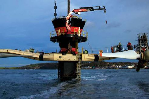 SeaGen Tidal Turbine gets all-clear from environmental & scientific studies