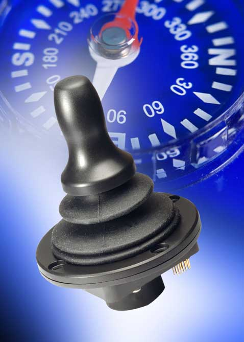 New Hall-effect joystick available from Aerco