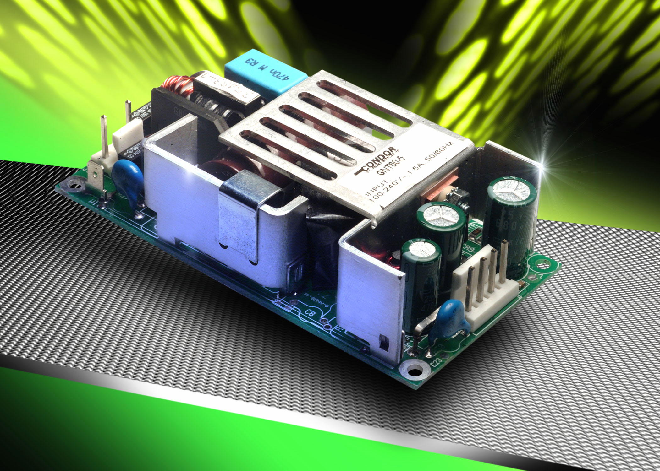 Single output 60W power supplies for medical applications