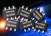 Intersil launches family of 3.3V ESD-protected (3kV), low-power RF gain blocks for satellite TV and ISM bands
