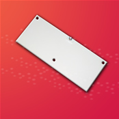 In-building wireless antenna  operates over the wideband frequency range of 800 MHz to 2.4 GHz