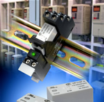 Miniature high power relay operates from AC supply
