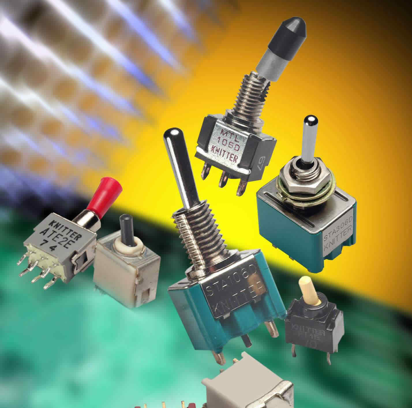 Broad range of toggles switches suit most applications