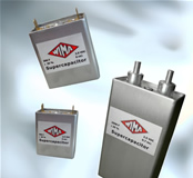 Double-layer capacitors achieve capacitance values up to 300 Farad