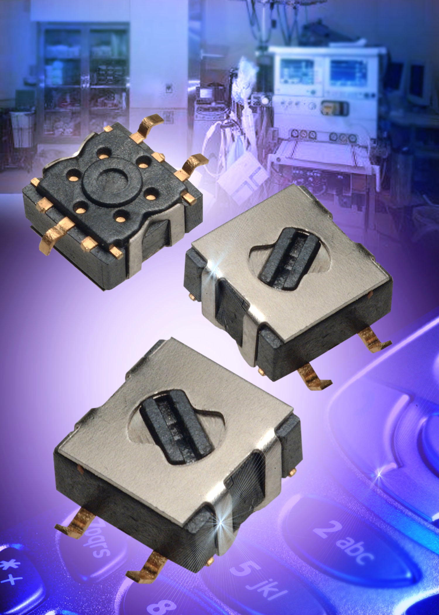 Surface-Mount Microminiature Rotary Switches