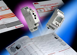 Timers and sensing relays catalogue is packed with detailed information for panel building purchasers