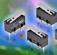 Micro switch offers various mounting options