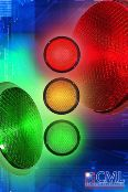 LED traffic lights cost less to run and last longer