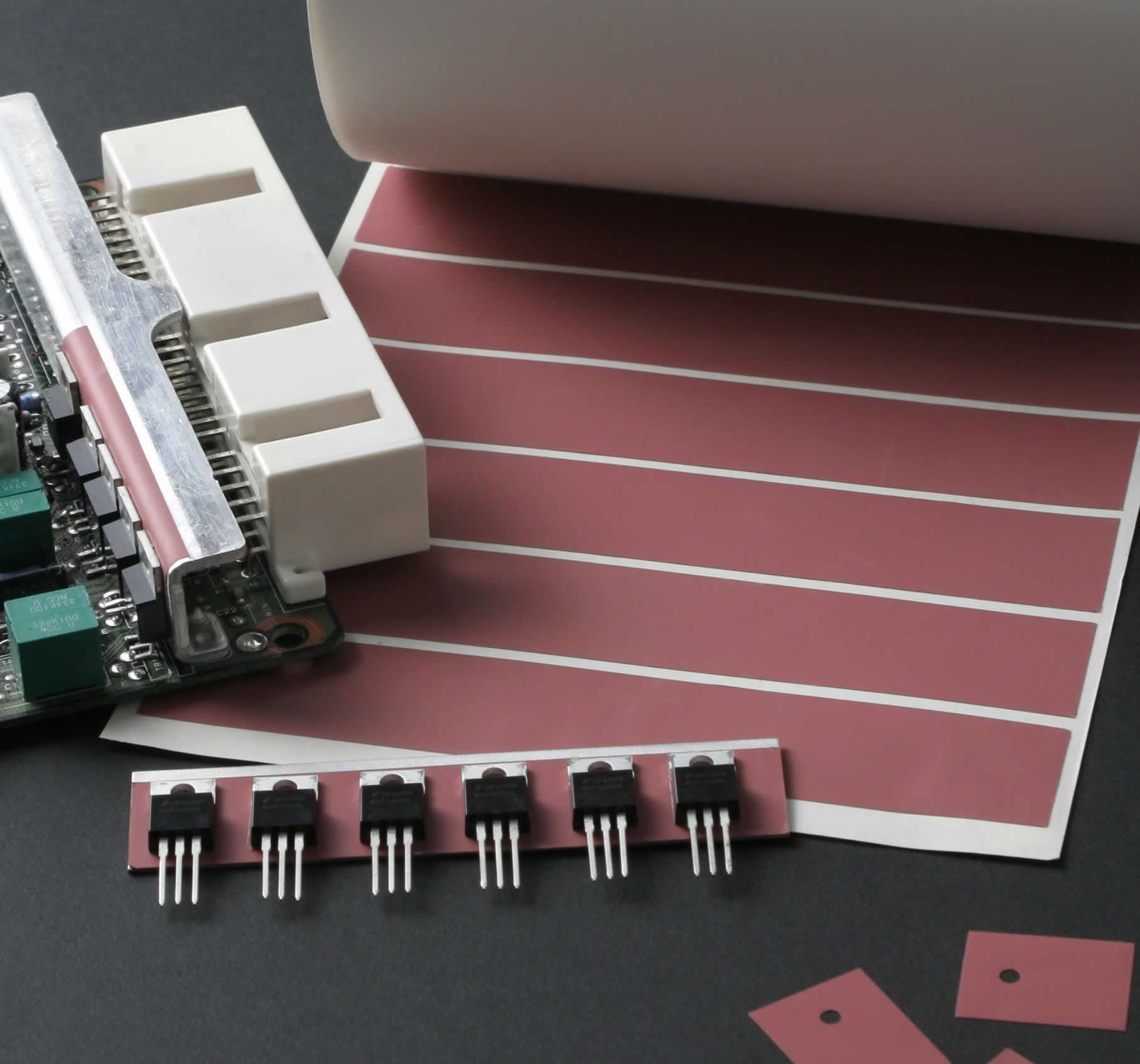Thermal interface material for automotive applications