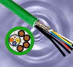 Hybrid PROFINET cabling from Harting simplifies installation