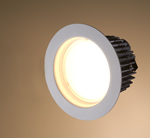 LED Downlight prototype with 102 Lumens per Watt Fixture Efficacy