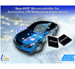 Atmel Targets Automotive LIN Networking Applications with Introduction of AVR Microcontroller
