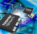 Toshiba expands family of low noise SiGe MMIC amplifiers featuring integrated pass-through capability