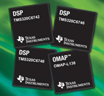 Four new processors from TI provide more connectivity options and power-efficiency