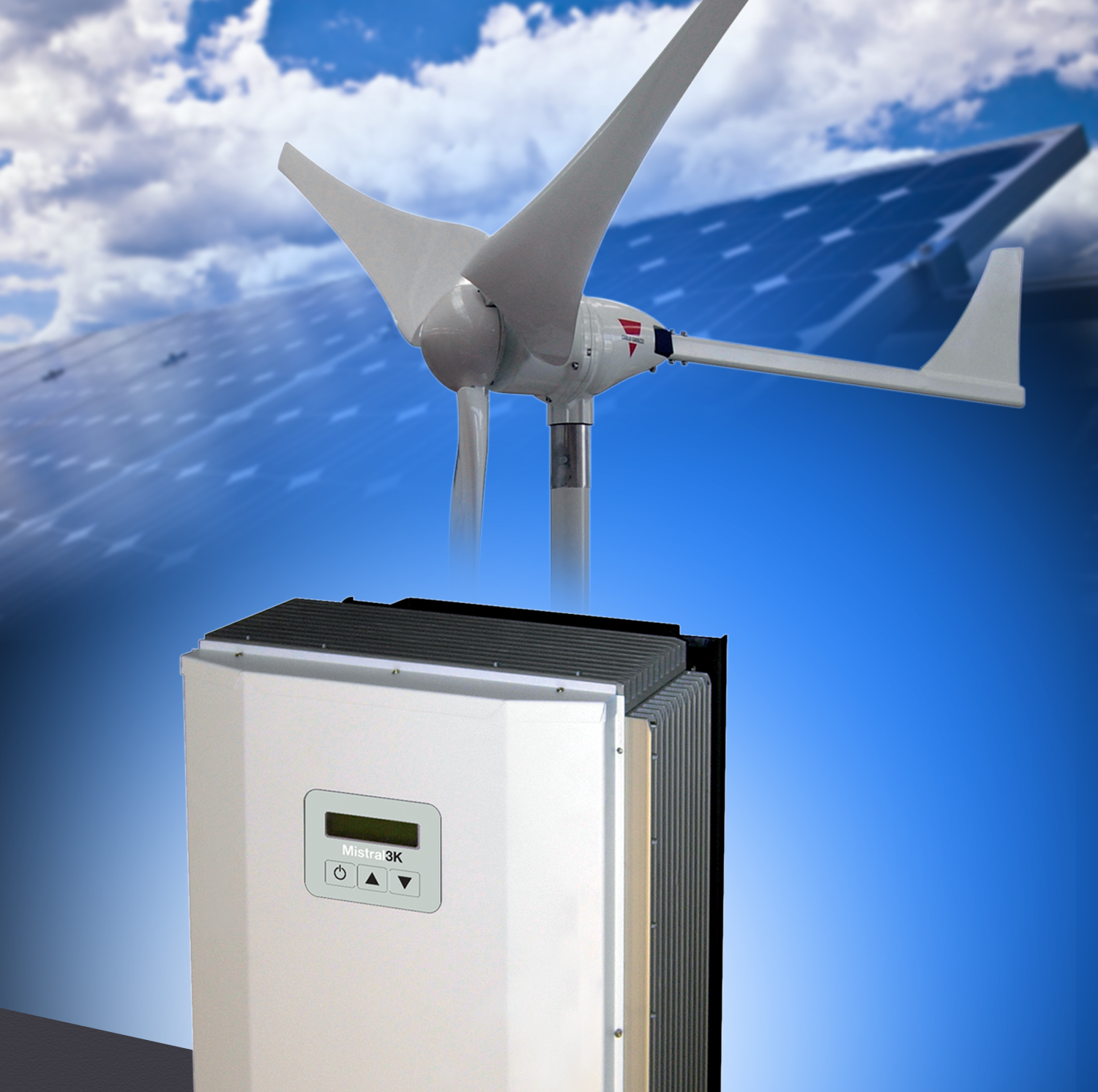 Wind turbine solution delivers 3kW